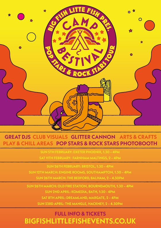 Camp Bestival 2017 tour dates