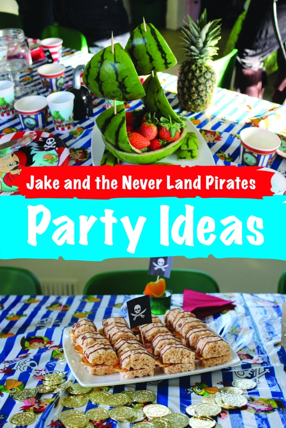Jake and the Never Land Party Ideas