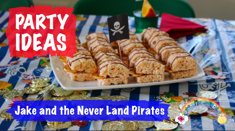 Awe Inspiring Jake And The Neverland Pirates Party Ideas Dear Mummy Blog Personalised Birthday Cards Fashionlily Jamesorg