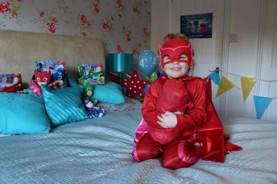 PJ Masks Owlette Costume Review