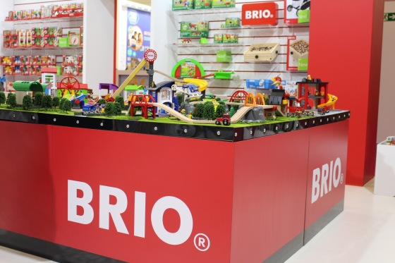 Brio at the Toy Fair