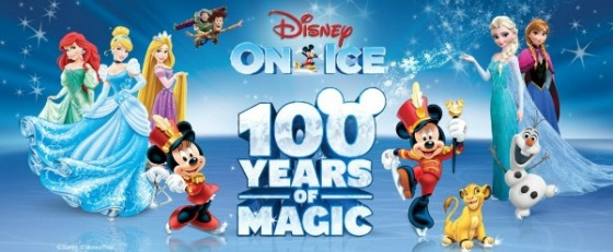 Disney on Ice banner