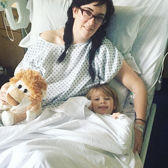 My mummy's stay in hospital