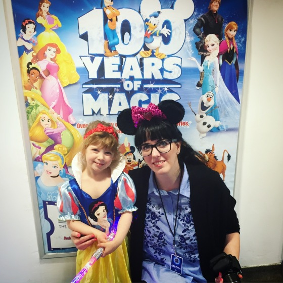 Visiting Disney on Ice