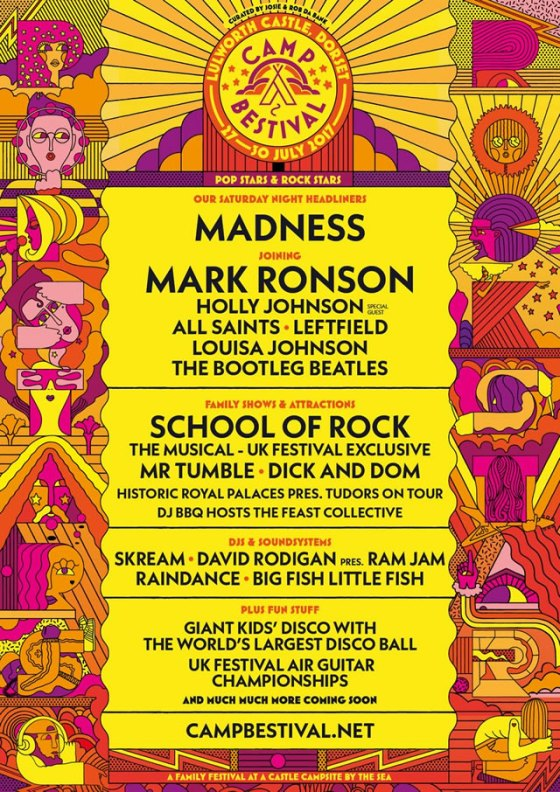 Camp Bestival line-up