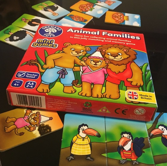 Orchard Toys Animal Families Game Review