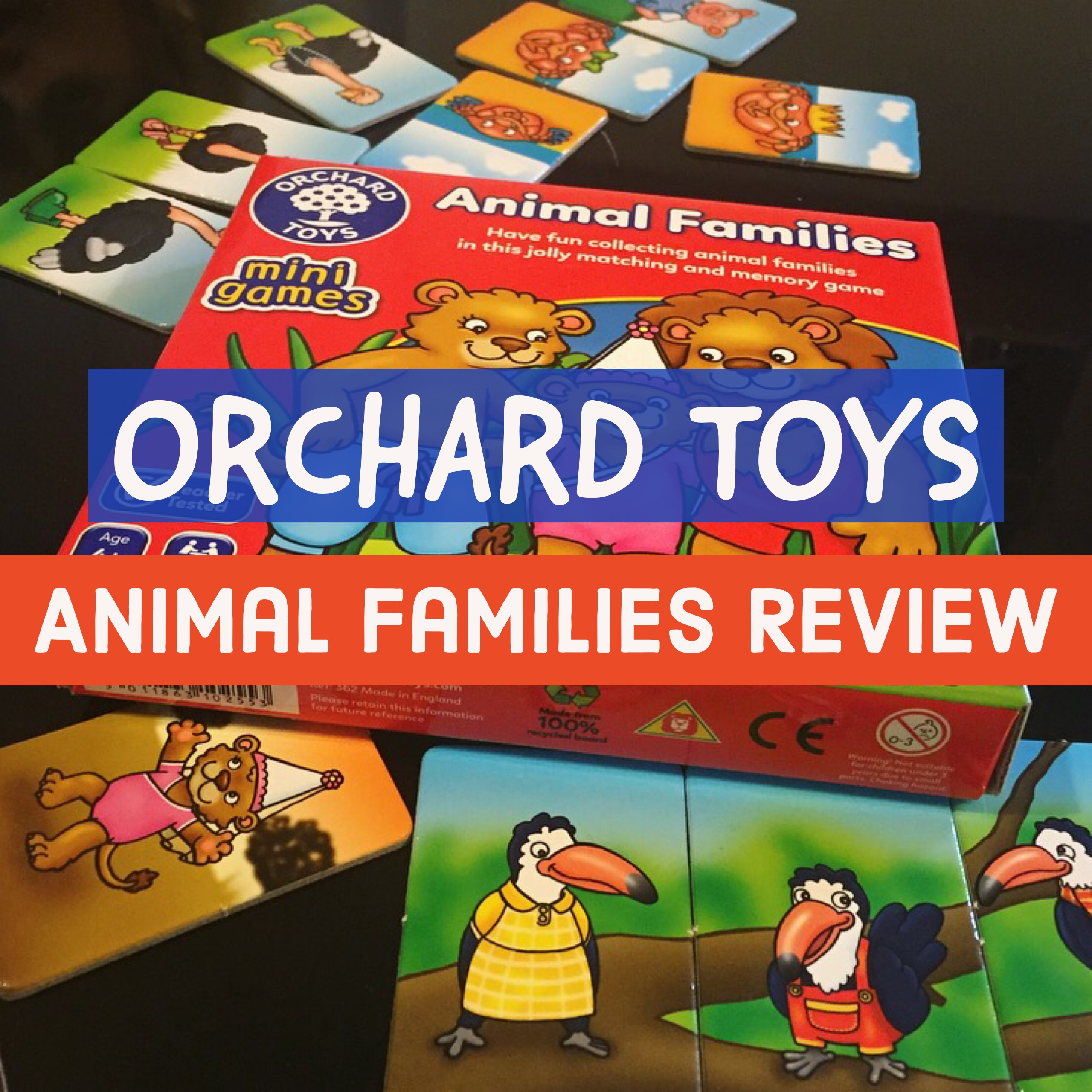 Orchard Toys Animal Families Review   Dear Mummy Blog