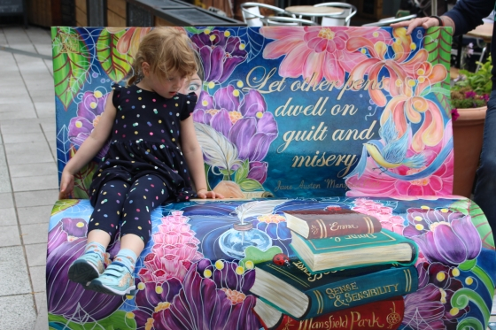 Sitting with Jane book benches