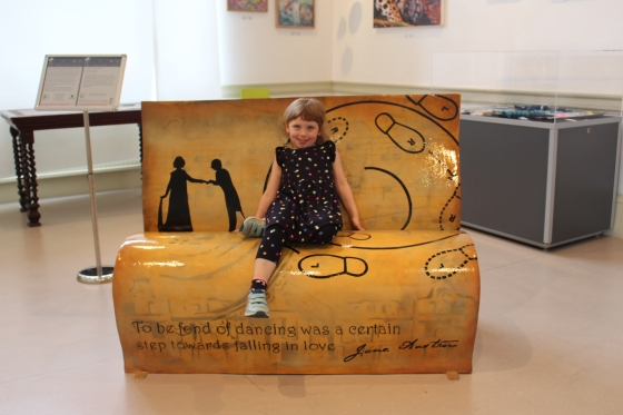 Sitting with Jane Book bench