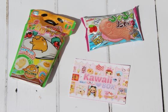 Kawaii Box Food Review