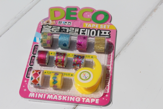 Kawaii Box Deco Tape
