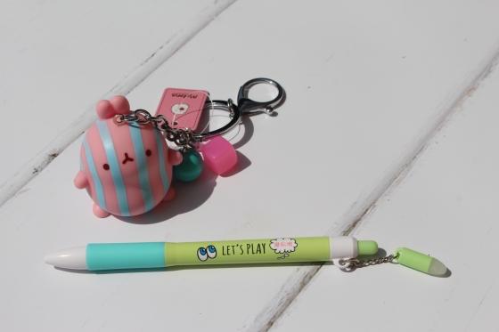 Kawaii Box Pen and Keyring