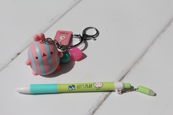 Kawaii Box Pen and Keyring