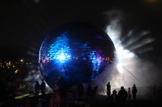 Camp Bestival Night Disco Ball