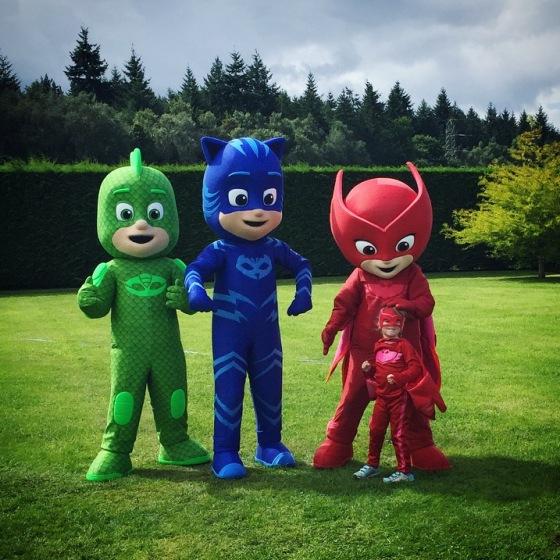 Meeting the PJ Masks