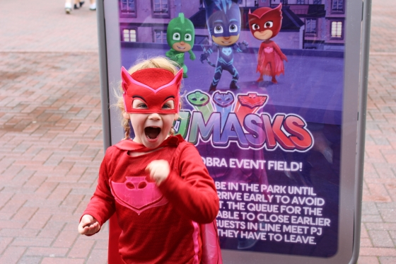 PJ Masks Event at Paultons Park