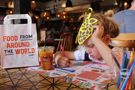 Giraffe World Kitchen Review