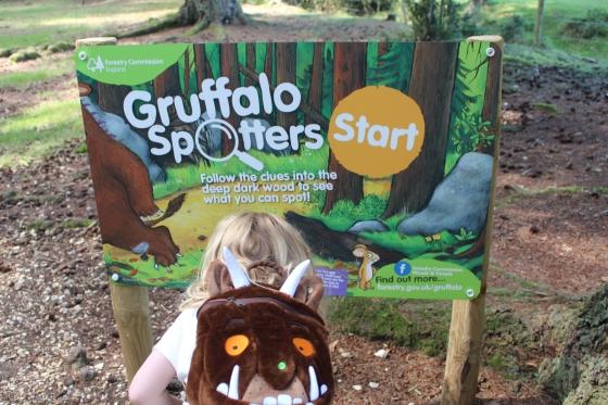 Gruffalo Trail at Bolderwood
