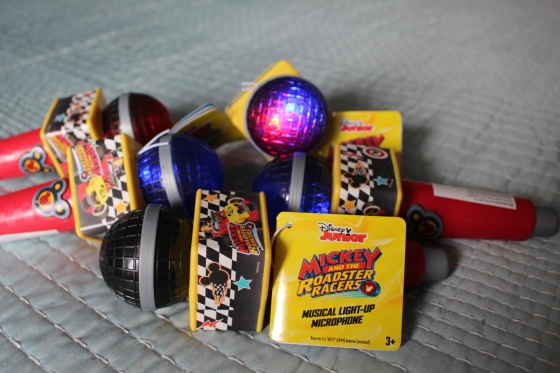 Mickey and the Roadster Racers Microphone closeup