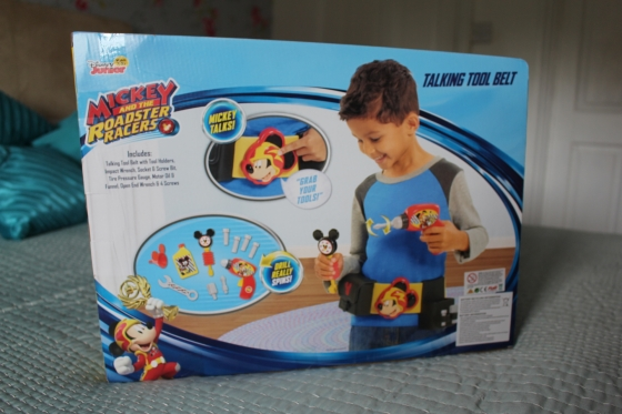 Mickey Roadster Racers Talking Toolbelt Back