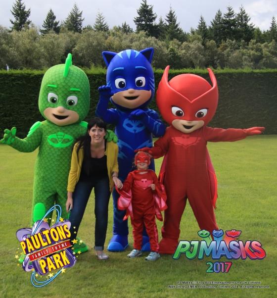 PJ Masks at Paultons Park