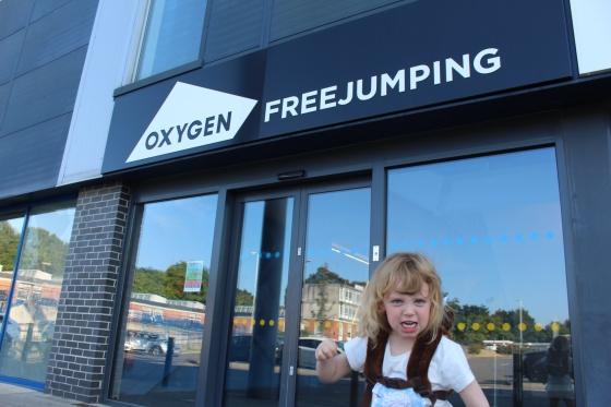 Oxygen Freejumping Southampton