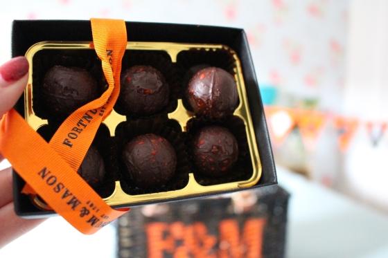 Pumpkin-Spiced Truffles