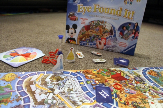 Ravensburger Disney Eye Found It Hidden Picture Game Review