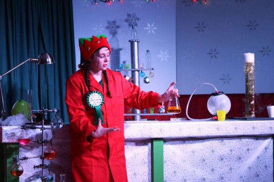Christmas Experience at Winchester Science Centre 1