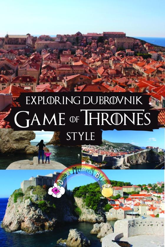 Exploring Dubrovnik Game of Thrones Pin