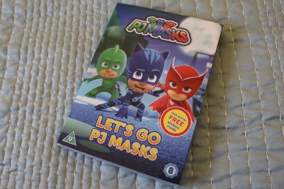 Let's Go PJ Masks DVD Review