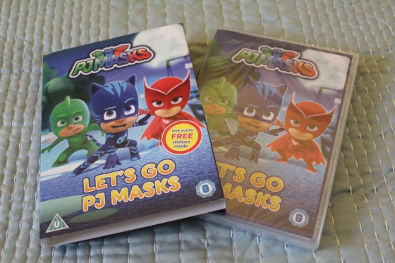 Let's Go PJ Masks DVD Review