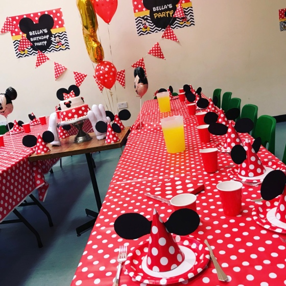 Disney Themed Birthday Party