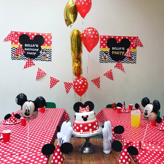 Disney themed party
