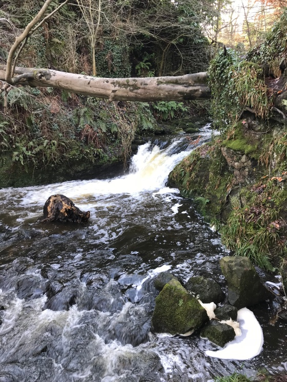 Glenoe Waterfall Photos