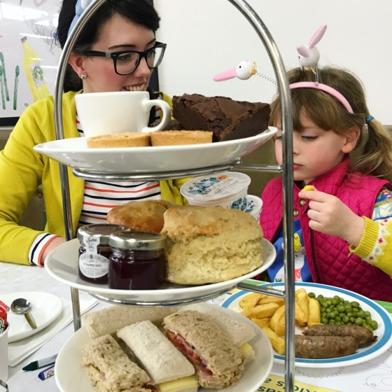 Easter Bunny Afternoon Tea at Wyevale Garden Centre