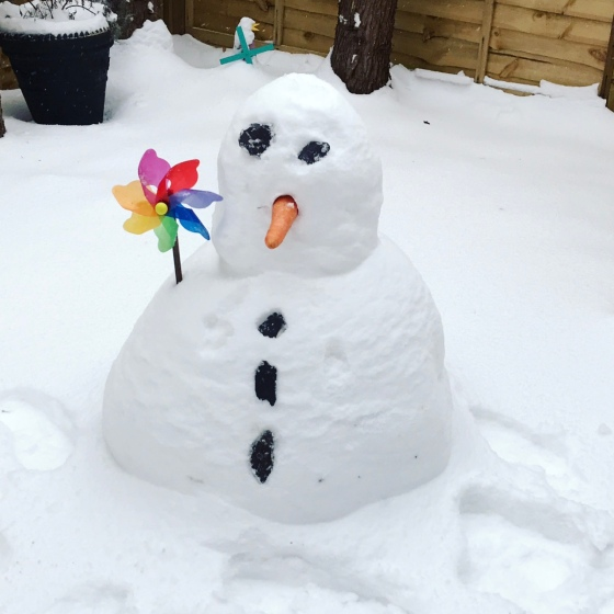 UK Snow 2018 Dear Mummy Blog