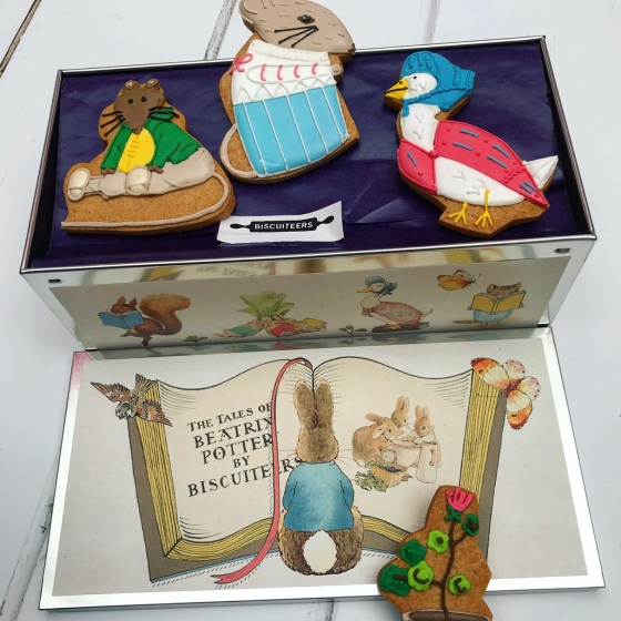 Biscuiteers Peter Rabbit Tin Review