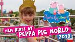 New Rides at Peppa Pig World 2018