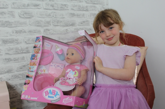 Baby Born Interactive Doll Review 1