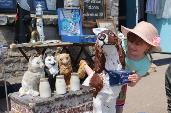 Lyme Regis Antiques Shop