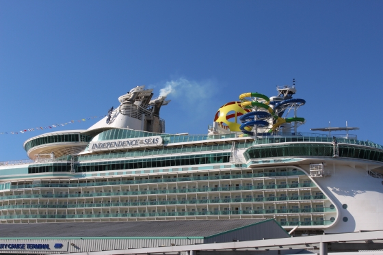 Independence of the Seas Ship Tour