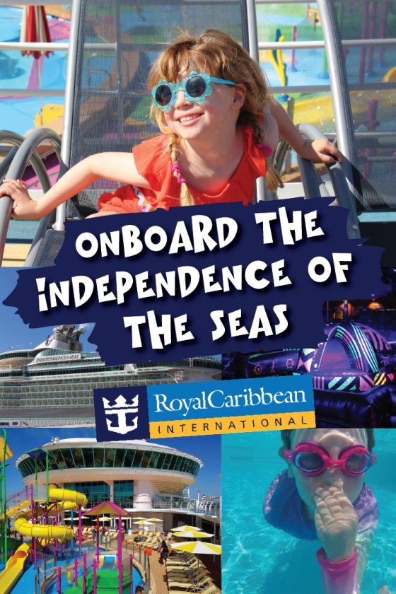 Onboard the Independence of the Seas Pins