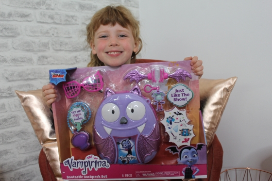 Disney Vampirina Bootastic Backpack Review