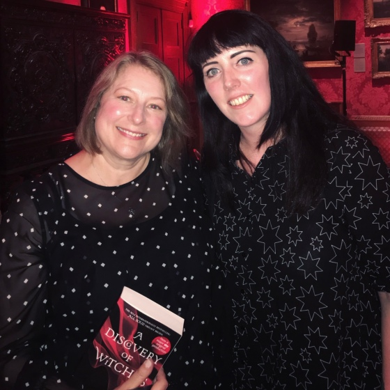 A Discovery Of Witches book signing