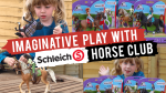Racing with Schleich Horse Club