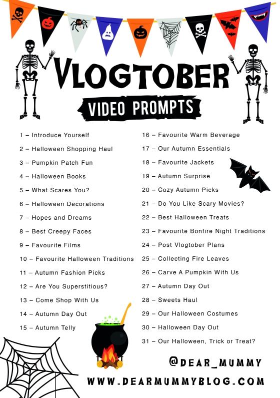 #Vlogtober