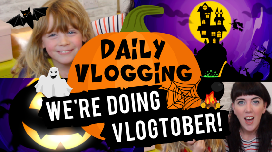 We're doing Vlogtober