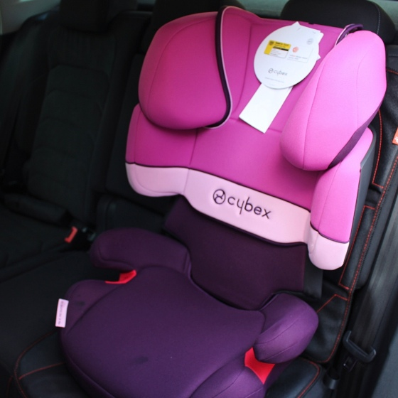 Cybex Solution X-Fix Group 2/3 Car Seat