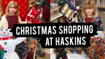 Christmas Shopping at Haskins
